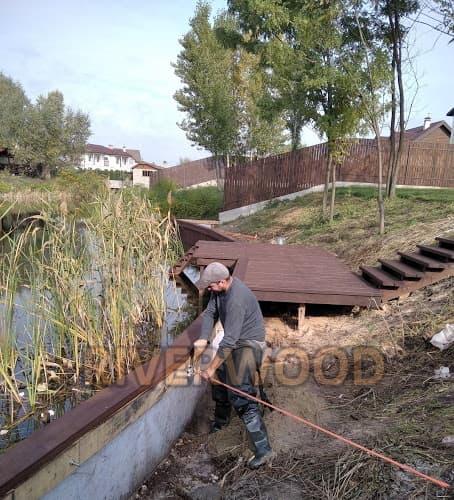 Укрепить берег в киевской области